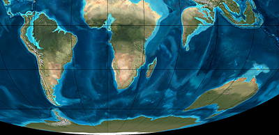 Eocene Southern Continents